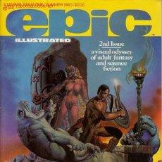 Cómics: EPIC ILLUSTRATED MAGAZINE # 2 (MARVEL-EPIC,1980) - STEVEN BISSETTE - DREADSTAR - STARLIN. Lote 26639103