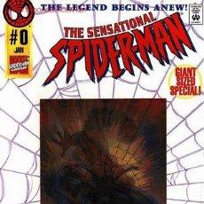 Cómics: SENSATIONAL SPIDER-MAN # 0 (MARVEL,1996) - SPIDERMAN - PORTADA CON HOLOGRAMA. Lote 27038397