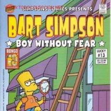 Fumetti: BART SIMPSON # 13 (BONGO COMICS,2003) - THE SIMPSONS. Lote 4326130