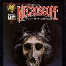 Cómics: NECROSCOPE BOOK II - WAMPHYRI # 1 (MALIBU,1993) - CRONICAS NECROMANTICAS. Lote 25672670