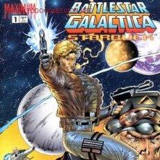 Cómics: COMPLETA - BATTLESTAR GALACTICA: STARBUCK # 1 AL 3 (MAXIMUM PRESS,1995). Lote 26367572