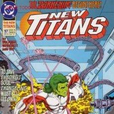 Cómics: THE NEW TITANS VOL.2 # 97 (DC,1993) - NEW TEEN TITANS - TOM GRUMMETT. Lote 5200034