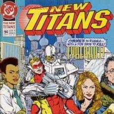 Cómics: THE NEW TITANS VOL.2 # 94 (DC,1993) - NEW TEEN TITANS - PHIL JIMENEZ. Lote 5200037