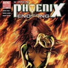 Cómics: COMPLETA - X-MEN: PHOENIX ENDSONG # 1 AL 5 (MARVEL,2005). Lote 27392408