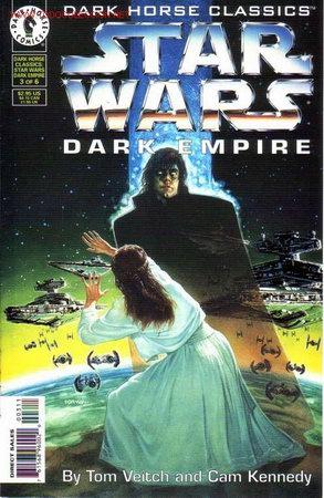 DARK HORSE CLASSICS - STAR WARS - DARK EMPIRE # 3 (DARK HORSE,1997) (Tebeos y Comics - Comics Lengua Extranjera - Comics USA)