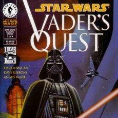 Cómics: COMPLETA - STAR WARS - VADER'S QUEST # 1 AL 4 (DARK HORSE,1999). Lote 26395020