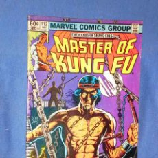 Cómics: MASTER OF KUNG FU # 112 - AÑO 1982 -. Lote 19044606