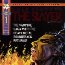 Cómics: COLD BLOODED: THE SLAYER # 1 (NORTHSTAR,1995) - VAMPIRE. Lote 27571334