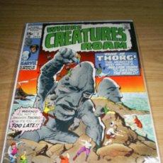 Cómics: MARVEL COMICS GROUP WHERE CREATURES ROAM NUMERO 3. Lote 11283899