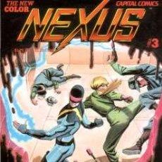 Cómics: NEXUS VOL.2 # 3 (CAPITAL COMICS,1983) - MIKE BARON - STEVE RUDE. Lote 11583632