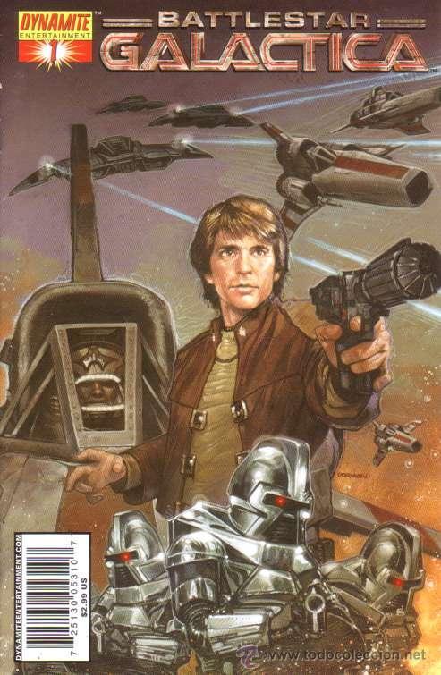 COMPLETA - BATTLESTAR GALACTICA CLASSIC VOL.1 # 1 AL 5 (DYNAMITE,2006) (Tebeos y Comics - Comics Lengua Extranjera - Comics USA)