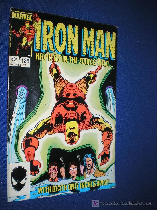 IRON MAN VOL.1 Nº 185 - MARVEL COMIC USA - EN INGLES (Tebeos y Comics - Comics Lengua Extranjera - Comics USA)
