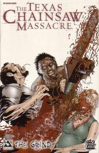 COMPLETA - TEXAS CHAINSAW MASSACRE: THE GRIND # 1 AL 3 (AVATAR,2006) (Tebeos y Comics - Comics Lengua Extranjera - Comics USA)
