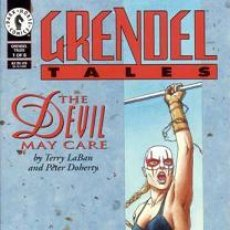 Cómics: COMPLETA - GRENDEL TALES: THE DEVIL MAY CARE # 1 AL 6 (DARK HORSE,1996). Lote 26698204