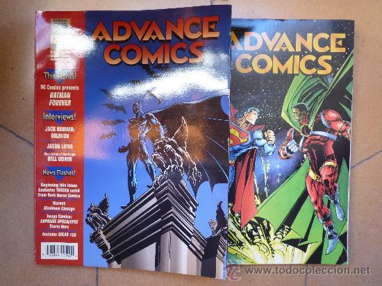 LOTE DE 2 ADVANCE COMICS - MAYO 94 - Nº 65, JUN. 95 - Nº 78 - EN INGLÉS - 367 PÁGINAS (Tebeos y Comics - Comics Lengua Extranjera - Comics USA)