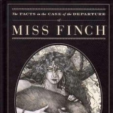 Cómics: THE FACTS IN THE CASE OF THE DEPARTURE OF MISS FINCH - HC (DARK HORSE,2008) - ZULLI - NEIL GAIMAN. Lote 29528392
