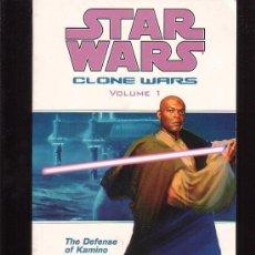 Cómics: STAR WARS , CLONE WARS VOLUME 1 ( EDICION EN INGLES ). Lote 14687937