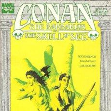 Cómics: CONAN THE BARBARIAN IN THE SKULL OF SET NOVELA GRAFICA. Lote 24931078