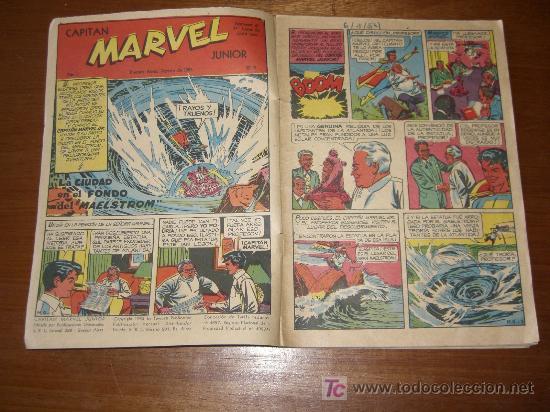 Cómics: RAREZA ABSOLUTA - CAPITAN MARVEL JUNIOR Nº 9 - Año 1953 En FAWCETT - Foto 2 - 15239208