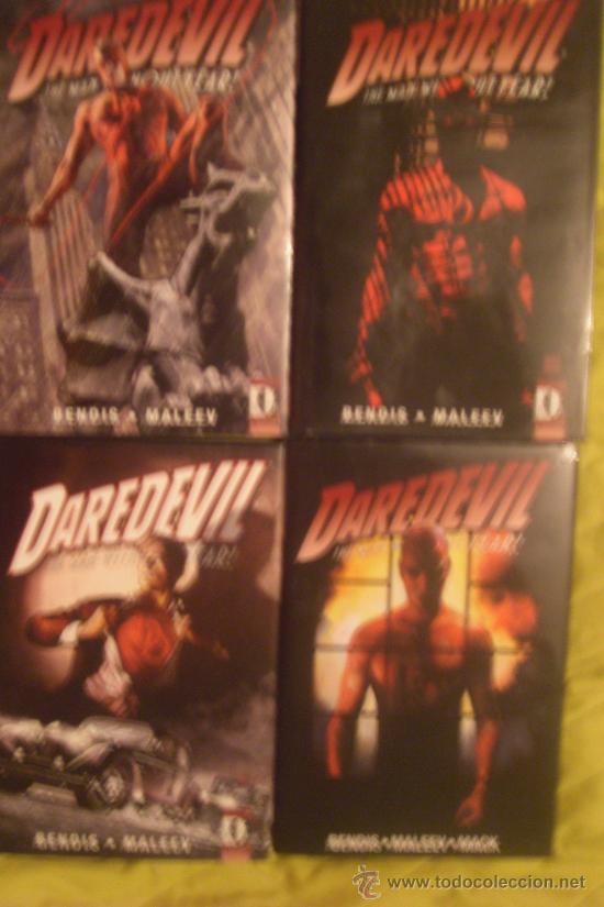 DAREDEVIL HC - VOL 3, 4, 5 & 6 - 4 TOMOS GRAN FORMATO EDICIÓN LUJO- BENDIS - MALEEV - MARVEL KNIGHTS (Tebeos y Comics - Comics Lengua Extranjera - Comics USA)