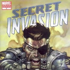Cómics: SECRET INVASION # 4 (MARVEL,2008) - VARIANT COVER - LEINIL YU. Lote 26639101