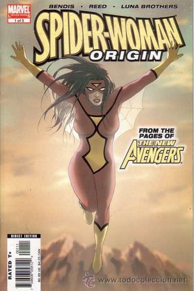 COMPLETA - SPIDER WOMAN ORIGIN # 1 AL 5 (MARVEL,2006) - LUNA BROTHERS (Tebeos y Comics - Comics Lengua Extranjera - Comics USA)