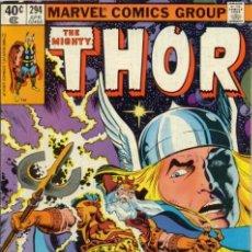 Cómics: THOR #294 APRIL 1980. Lote 18603492