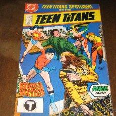 Cómics: TEEN TITANS SPOTLIGHT # 21. Lote 25300758