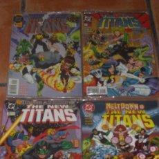 Cómics: THE NEW TITANS - TEEN - LOTE 214 COMICS (DESDE 1995-2011) COMPLETA - INÉDITOS NUEVOS TITANES. Lote 26753358