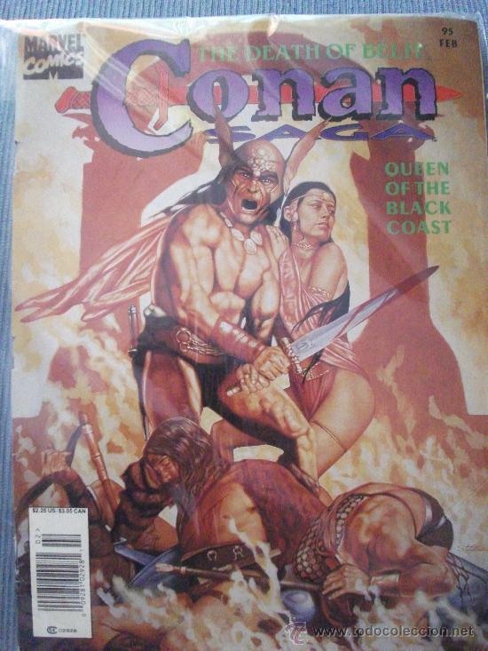 CONAN SAGA Nº 95 CON LA MUERTE DE BELIT COMIC USA MARVEL (Tebeos y Comics - Comics Lengua Extranjera - Comics USA)