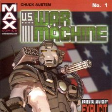 Cómics: COMPLETA - US WAR MACHINE VOL.2 # 1 AL 12 (MARVEL,2001) - IRON MAN - CHUCK AUSTEN. Lote 26698211