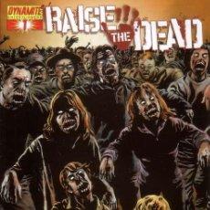 Cómics: RAISE THE DEAD VOL.1 # 1B (DYNAMITE,2007) - SEAN PHILLIPS COVER - ZOMBIE. Lote 25504538