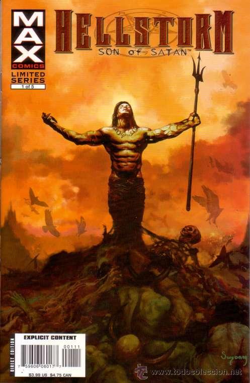 COMPLETA - HELLSTORM: SON OF SATAN # 1 AL 5 (MARVEL-MAX,2006) (Tebeos y Comics - Comics Lengua Extranjera - Comics USA)