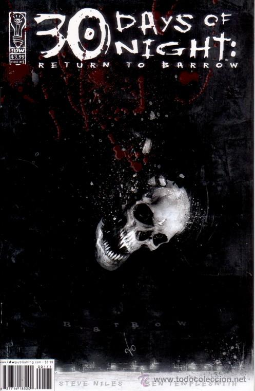 Cómics: COMPLETA - 30 DAYS OF NIGHT: RETURN TO BARROW # 1 al 6 (IDW,2004) - 30 DIAS DE NOCHE - STEVE NILES - Foto 1 - 26717082