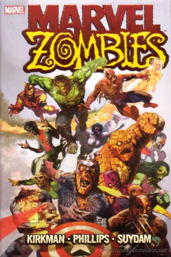 MARVEL ZOMBIES HC (MARVEL,2006) - TAPA DURA CON SOBRECUBIERTA (Tebeos y Comics - Comics Lengua Extranjera - Comics USA)