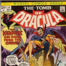 Cómics: TOMB OF DRACULA VOL.1 # 14 (MARVEL,1973) - GENE COLAN. Lote 26134728