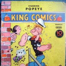 Cómics: POPEYE REVISTA DE 1938. Lote 27761636