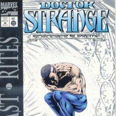 Cómics: MARVEL - DOCTOR STRANGE - SORCERER SUPREME (1994). Lote 28171673