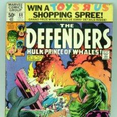 Cómics: THE DEFENDERS HULK PRINCE OF WHALES VOL 1 Nº 88 MARVEL CÓMICS 1980. Lote 27816481