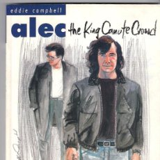Cómics: EDDIE CAMPBELL . ALEC . THE KING CANUTE CROWD. Lote 27931375
