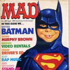 Cómics: MAD : BATMAN (1989). Lote 42591646