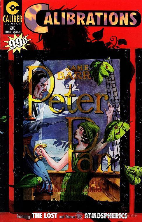 COMPLETA - CALIBRATIONS # 1 AL 5 (CALIBER COMICS,1996) - ATMOSPHERICS - WARREN ELLIS (Tebeos y Comics - Comics Lengua Extranjera - Comics USA)