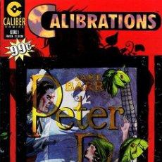 Cómics: COMPLETA - CALIBRATIONS # 1 AL 5 (CALIBER COMICS,1996) - ATMOSPHERICS - WARREN ELLIS. Lote 28369319