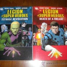 Cómics: LEGION OF SUPER-HEROES PACK 2 TOMOS. Lote 28550727
