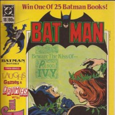 Cómics: COMIC-BATMAN NUM. 16-UK-LONDON EDITIONS-1989--EN INGLES. Lote 29836401