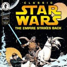 Cómics: COMPLETA - CLASSIC STAR WARS: EMPIRE STRIKES BACK # 1 Y 2 (DARK HORSE,1994) - AL WILLIAMSON. Lote 29840011