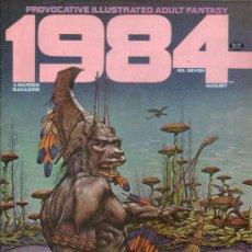 Cómics: 1984/1994 MAGAZINE # 7 (WARREN,1979) - ALEX NIÑO - RICHARD CORBEN - FRANK THORNE. Lote 30019451