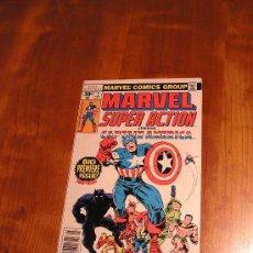 Cómics: MARVEL SUPER ACTION CAPTAIN AMERICA (CAPITÁN AMÉRICA) MINI SERIE N.1-2-3. JACK KIRBY 1977.. Lote 30104747