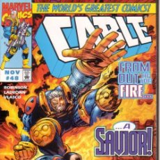 Cómics: CABLE VOL.1 # 48 (MARVEL,1997) - X-MEN. Lote 30216502