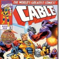 Cómics: CABLE VOL.1 # 45 (MARVEL,1997) - X-MEN. Lote 30216538
